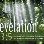 Revelation 3:5 – White for Victorious Wallpaper Christian Background