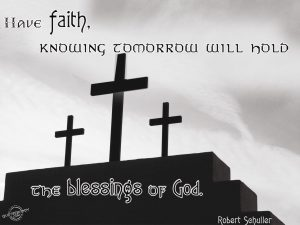 Christian Quote: Robert Sehuller Wallpaper