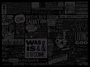 Christian Graphics: Scriptures Wallpaper