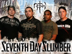 Seventh Day Slumber Christian Band Wallpaper