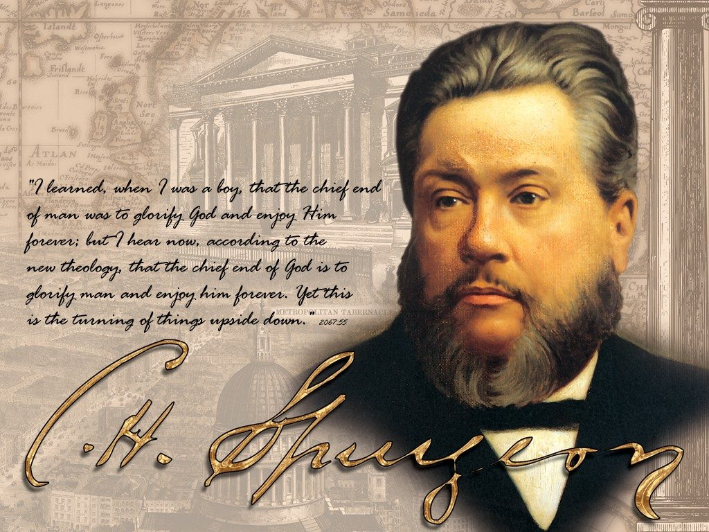 Christian Quote: C.H. Spurgeon christian wallpaper free download. Use on PC, Mac, Android, iPhone or any device you like.