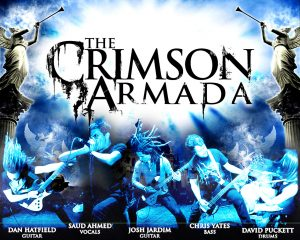 Christian Band: The Crimson Armada Wallpaper