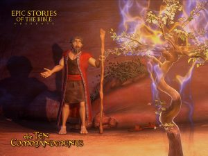 Bible Tale: The Ten Commandments Wallpaper