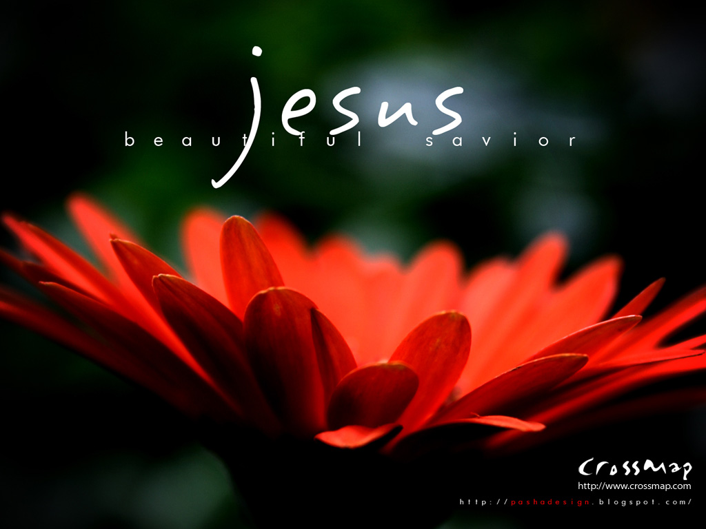 Christian Quote: JESUS! Beautiful Savior Papel de Parede Imagem