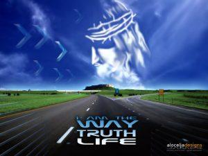 John 14:6 – Way, Truth and Life Wallpaper