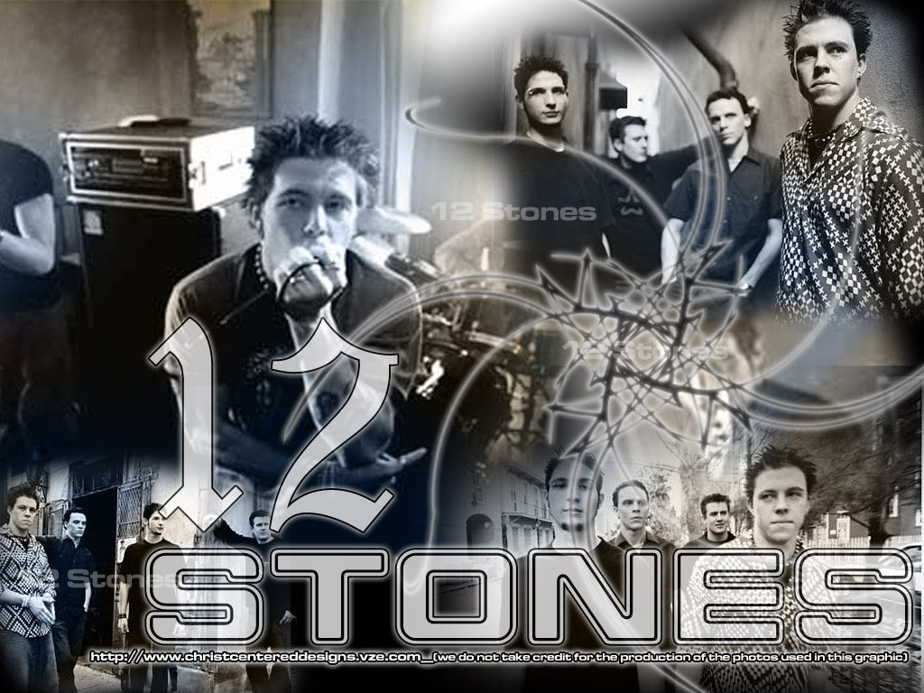 Christian Band: 12 Stones Album Art christian wallpaper free download. Use on PC, Mac, Android, iPhone or any device you like.