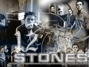 Christian Band: 12 Stones Album Art Wallpaper