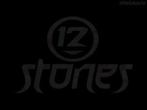 Christian Band: 12 Stones Black Logo Wallpaper
