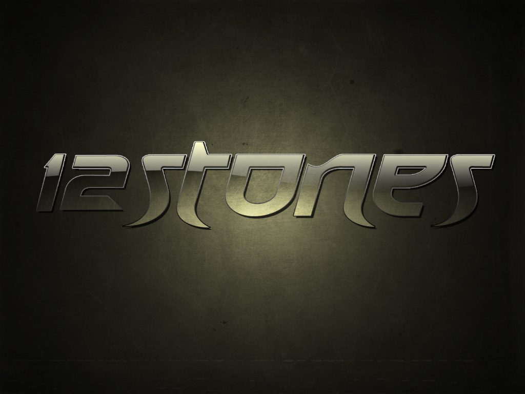 Christian Band: 12 Stones Name Graphic christian wallpaper free download. Use on PC, Mac, Android, iPhone or any device you like.