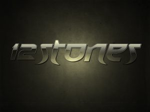 Christian Band: 12 Stones Name Graphic Wallpaper