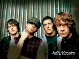 Christian Band: Audio Adrenaline Members Wallpaper