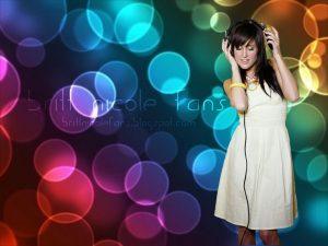 Christian Singer: Britt Nicole Fan-made Graphic Wallpaper