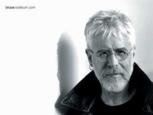 Christian Singer: Bruce Cockburn Black and White Wallpaper
