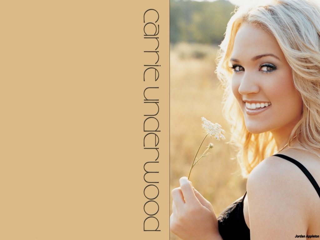 Christian Singer: Carrie Underwood Smiling On Field christian wallpaper free download. Use on PC, Mac, Android, iPhone or any device you like.