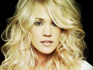 Christian Singer: Carrie Underwood Beautiful Face Wallpaper