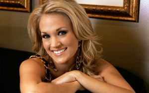 Christian Singer: Carrie Underwood Beautiful Smile Wallpaper