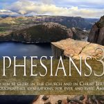 Ephesians 3:21 – Glory To God Wallpaper Christian Background