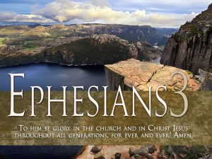 Ephesians 3:21 – Glory To God Wallpaper