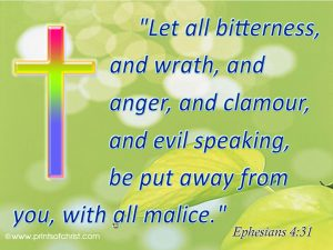 Ephesians 4:31 – Cleansing Oneself Wallpaper
