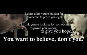 Christian Quote: Believe Wallpaper