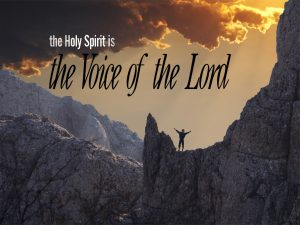 Christian Graphic: Voice Holy Spirit Wallpaper