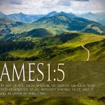 James 1:5 – Generous God Wallpaper Christian Background