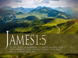 James 1:5 – Generous God Wallpaper