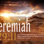 Jeremiah 29:11 – God's Plans Wallpaper Christian Background