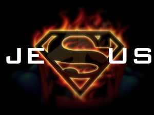 Christian Graphic: Super Hero Wallpaper