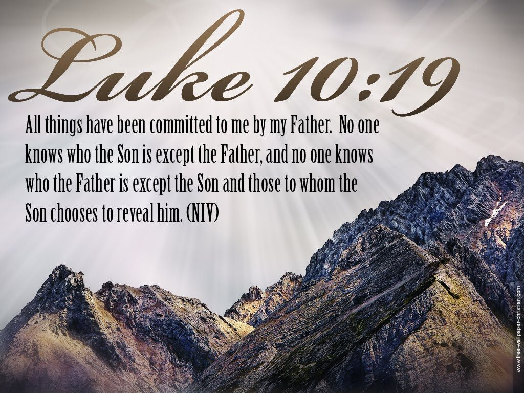 Luke 10:19 – Nothing Will harm You christian wallpaper free download. Use on PC, Mac, Android, iPhone or any device you like.