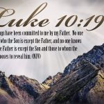 Luke 10:19 – Nothing Will harm You Wallpaper Christian Background