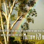 Matthew 1:21 – Jesus Our Savior Wallpaper Christian Background