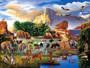 Bible Tale: Noah's Ark Wallpaper