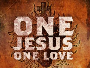 Christian Graphic: One Jesus, One Love Wallpaper