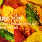 Philippians 3:20 – Lord Jesus Christ Our Savior Wallpaper Christian Background