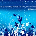 Philippians 4:13 – Do All Things Wallpaper Christian Background