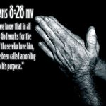 Romans 8:28 – Works for the Good Wallpaper Christian Background