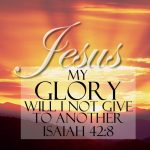 Isaiah 42:8 – Glory Of The Lord Wallpaper Christian Background