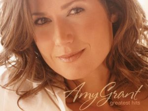 Christian Singer: Amy Grant Greatest Hits Album Cover Wallpaper