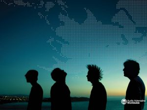 Christian Band: Audio Adrenaline Shadows Wallpaper