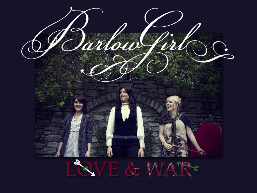 Christian Singers: Barlow Girl's Love and War Album christian wallpaper free download. Use on PC, Mac, Android, iPhone or any device you like.