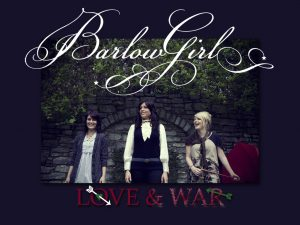 Christian Singers: Barlow Girl's Love and War Album Wallpaper