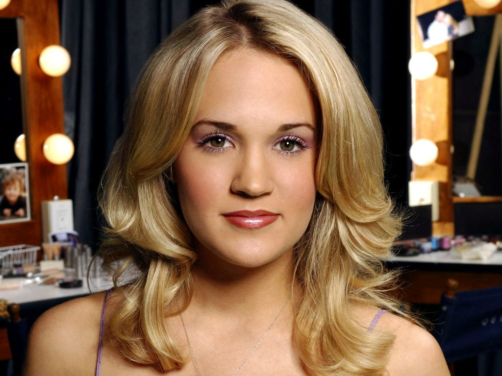 Christian Singer: Carrie Underwood Perfect Face christian wallpaper free download. Use on PC, Mac, Android, iPhone or any device you like.
