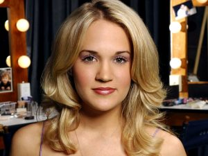Christian Singer: Carrie Underwood Perfect Face Wallpaper