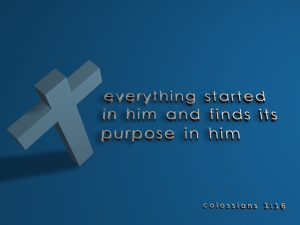 Colossians 1:16 – Creation Wallpaper