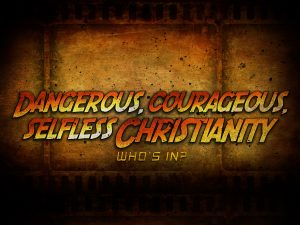 Christian Graphic: Who Is In? Wallpaper