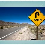 Faith Road-sign Wallpaper Christian Background