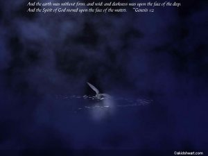 Genesis 1:2 – The Spirit of God Wallpaper