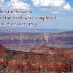 Genesis 2:1 – Heavens And Earth Wallpaper Christian Background