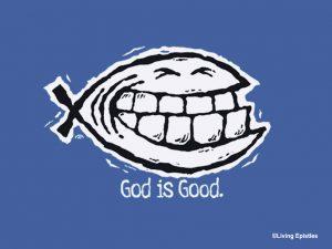 Christian Graphic: Big Fish Wallpaper